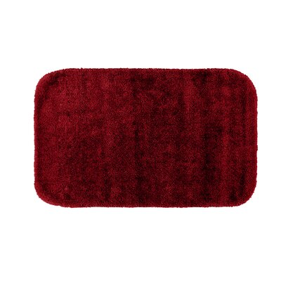Stanley Bath Rug Color: Chili Pepper Red, Size: 24 x 40