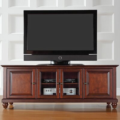 Allingham Low Profile 60 TV Stand Color: Vintage Mahogany