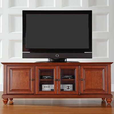 Allingham Low Profile 60 TV Stand Color: Classic Cherry