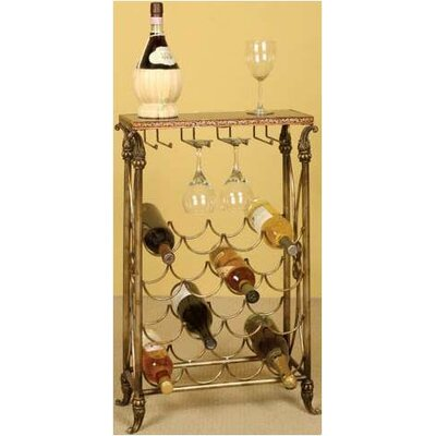 Sharon Lane 16 Bottle Floor Wine Rack