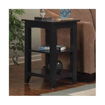 Birch Creek Two Shelf End Table