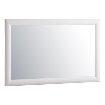 Worcester Wall Mirror Finish: White