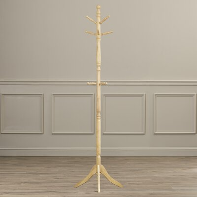 Livesey Livingston Swivel Coat Rack Finish: Natural