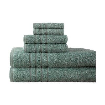 Strafford 6 Piece Towel Set Color: Ocean