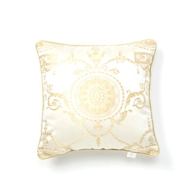 Fairmount Damask Decorative  Throw Pillow Color: Beige