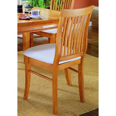Carlock Slat Back Side Chair (Set of 2)
