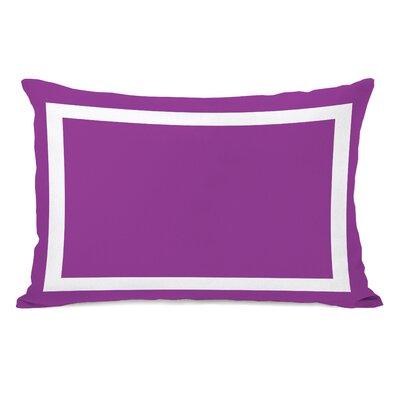Alleyton Simple Lumbar Pillow Color: Purple