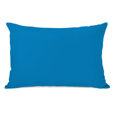 Benbrook Lumbar Pillow Color: Bright Blue
