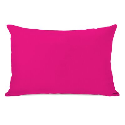 Benbrook Lumbar Pillow Color: Hot Pink