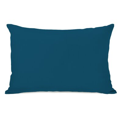 Benbrook Lumbar Pillow Color: Moroccan Blue