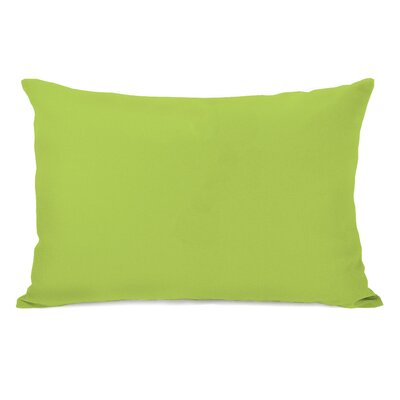 Benbrook Lumbar Pillow Color: Lime