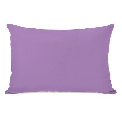 Benbrook Lumbar Pillow Color: Princess Lavender
