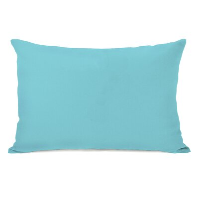 Benbrook Lumbar Pillow Color: Pale Aqua