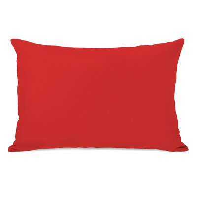 Benbrook Lumbar Pillow Color: Rocket Red
