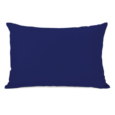 Benbrook Lumbar Pillow Color: Whale Blue