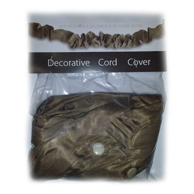 Darmsta Silk Decorative Electrical Cord Cover Finish: Olive
