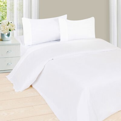 Sheet Set Color: White, Size: Full