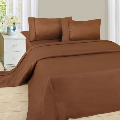 Sheet Set Color: Chocolate, Size: Twin XL