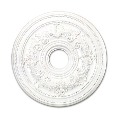 Monon Ceiling Madallion in White Size: Medium
