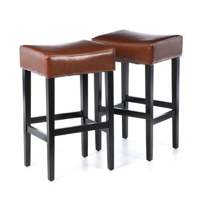 Ridgedale 30 Bar Stool Upholstery: Hazelnut