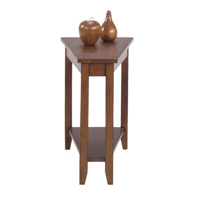 Hansa End Table Color: Loren Walnut