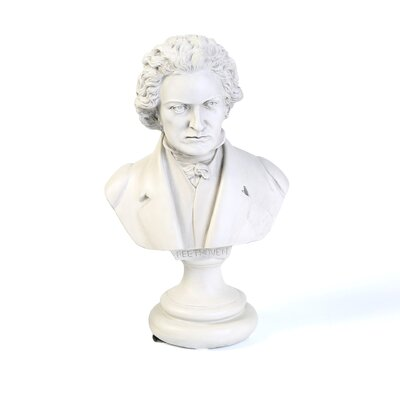 Burley Oak Beethoven Great Composer Bust