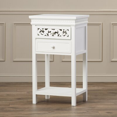 Nagel End Table With Storage