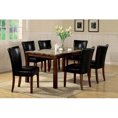 Milltown Rectangular Dining Table Finish: Rich Cherry