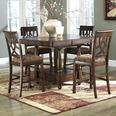 Neiman Counter Height Extendable Dining Table