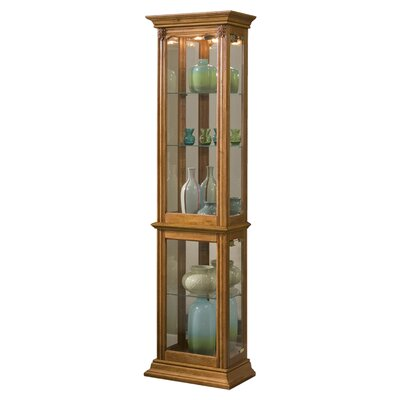 Maywood Curio Cabinet Finish: Oak