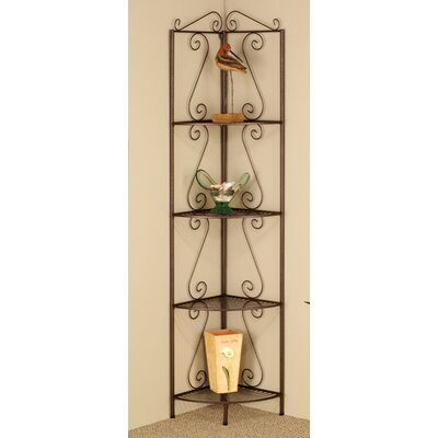 Yeatman Four Tier 70 Corner Unit Bookcase