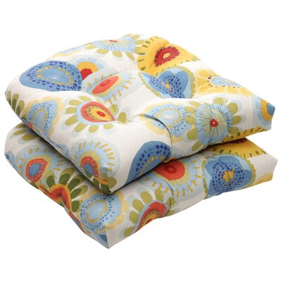 Tadley Outdoor Dining Chair Cushion Color: Multicolored Floral
