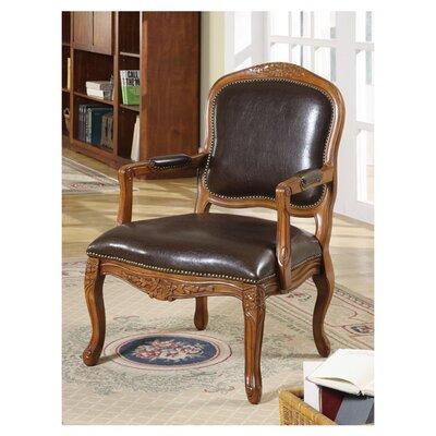 Margarite Faux Arm Chair