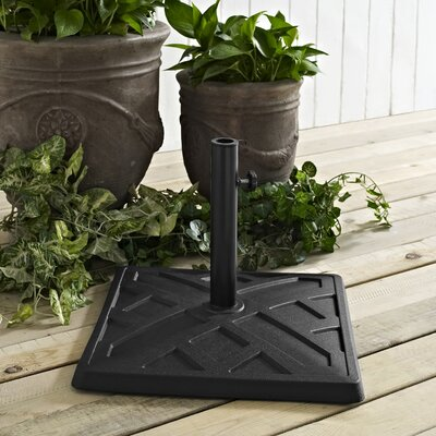 Blackmoor Polyresin Umbrella Base Finish: Black