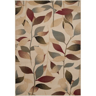 Yden Camel Mossy Stone Area Rug Rug Size Runner 3 x 8