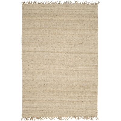 Charlton Home McCallum Hand-Woven Brown Area Rug