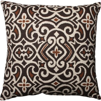 Fraley Throw Pillow Size: 23 H x 23 W, Color: Brown / Beige