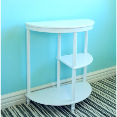 Ohio Multi Tier End Table Color: White