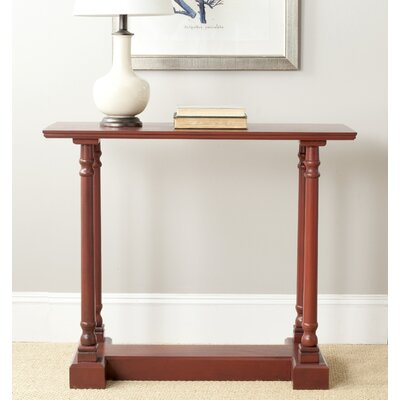Grobbam Console Table Finish: Red