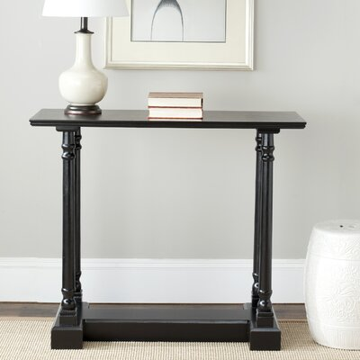 Grobbam Console Table Finish: Distressed Black