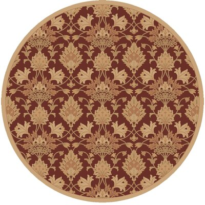 Higate Hand Tufted Beige Area Rug Rug Size: Round 99