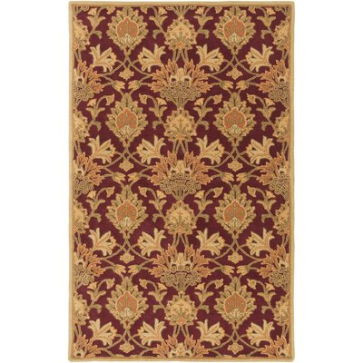 Higate Hand Tufted Beige Area Rug Rug Size: Rectangle 9 x 12