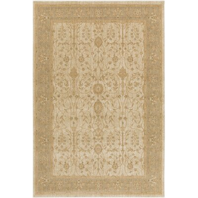 Tilghman Beige Area Rug Rug Size: Rectangle 53 x 73