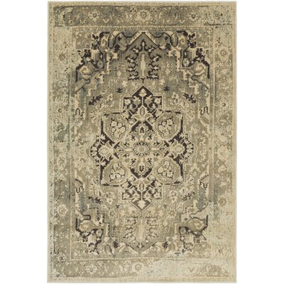 Lambton Gray Area Rug Rug Size: Rectangle 710 x 910
