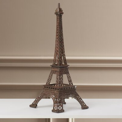 Buryngton Eiffel Tower Figurine Size: 12 H