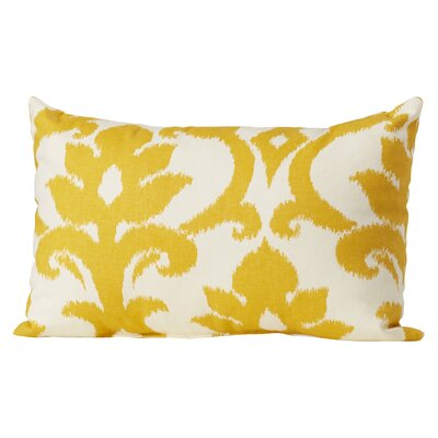 Irma Cotton Lumbar Pillow Color: Marigold