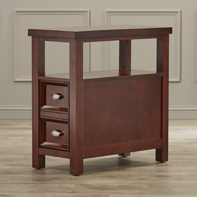 Herwy End Table With Storage