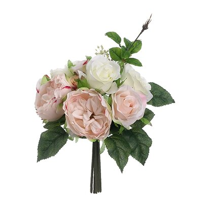 Rose Bouquet Color: Pink / Cream