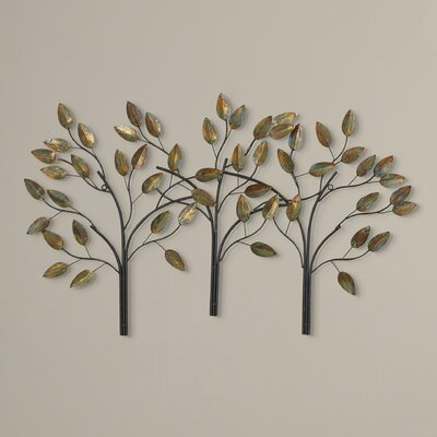 Desford Leaf Wall Décor Finish: Modern and Classy