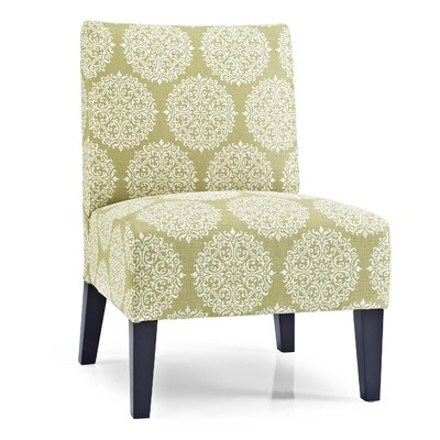 Gerace Slipper Chair Upholstery: Moss